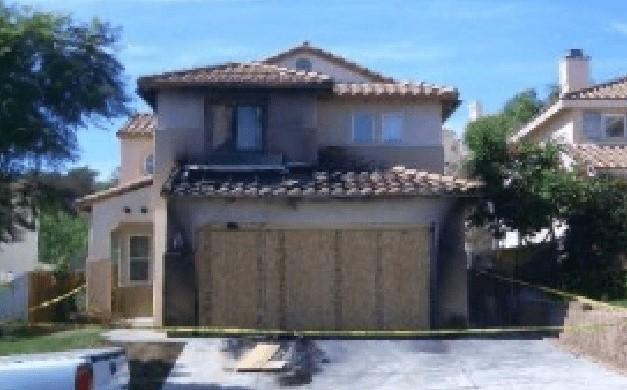 Property fire damage