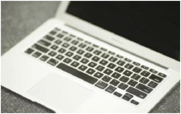 Damaged laptop