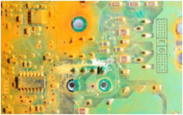 Electronics damage and restoration